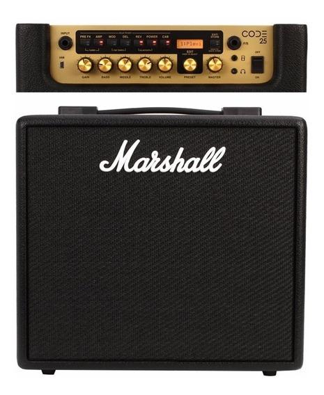 Amplificador De Guitarra Marshall Code25