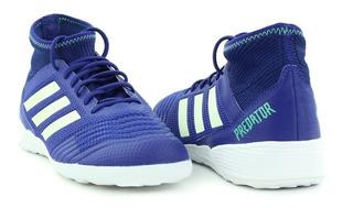 Chuteira adidas Predator Tango 18.3 - Futsal - Azul
