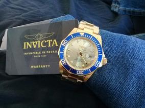 Relógio Invicta Pro Diver Gold 18k Original