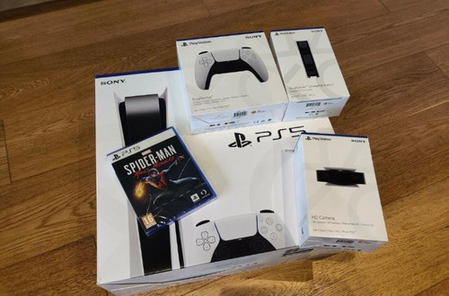 Playstation 5 Versión De Disco Original Sony 1tb