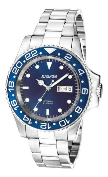 Relógio Magnum Automático Masculino Ma33844f
