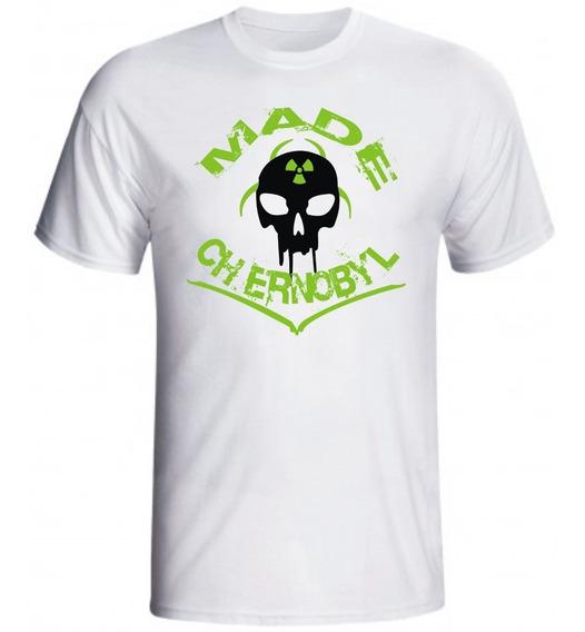 Camiseta Made Chernobil De Academia Masculina