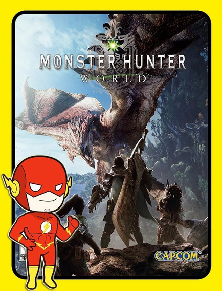 Monster Hunter World Pc - Steam Key (envio Flash)