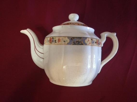 Antigua Tetera Porcelana China Sellada