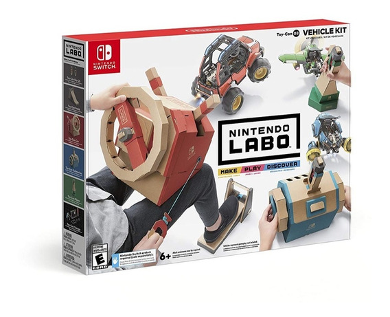 ..:: Nintendo Labo Vehicle Kit :::.. Para Nintendo Switch