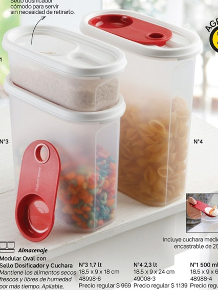 Lote Productos Tupperware