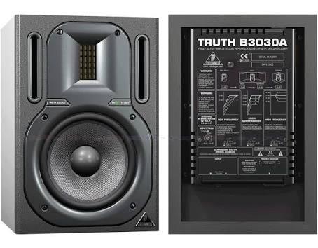 Monitor De Áudio Ativo Behringer Truth B3030a Leia A Descriç