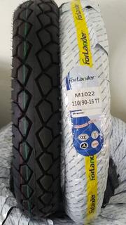 Cauchos De Moto 110/90-16 Tt