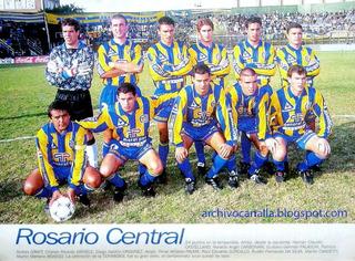 Camisa Rosário Central,1995, Trocada Na Conmebol!