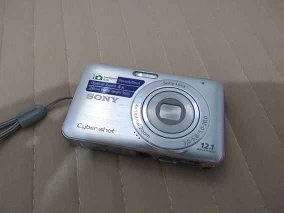 Câmera Digital Dsc W310 12.1 Mega Pixels 2.7 Lcd
