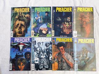 Preacher 2000 Brainstore Editora 22 Hq Semi Novo