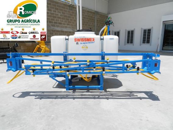 Aspersora Fumigadora Para Tractor De 400 Lts Marca Swissmex