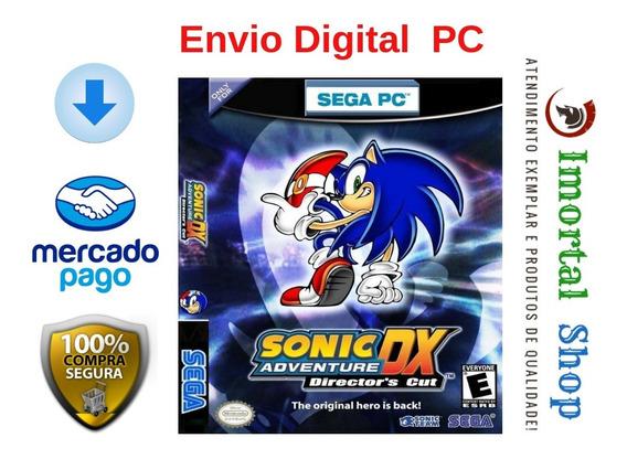 Sonic Adventure Dx Mídia Digital Pc