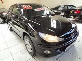 Peugeot 206 Moonlight 1.4 8v 2008 Baixa Km Completo