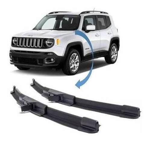 Jogo Palheta Limpador Diant Tras Original Jeep Renegade 2019