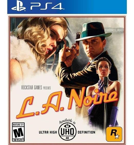 L.a. Noire Ps4 - Mídia Física - Lacrado - Novo