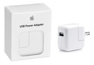 Cargador iPhone 5 6 7 8 X iPod iPad Original Apple 12w