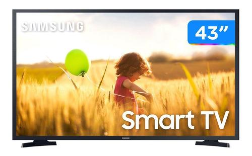 Imagem 1 de 9 de Smart Tv Full Hd Led 43 Samsung
