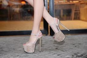 Sapato Feminino Importado Salto Alto - Frete Grátis