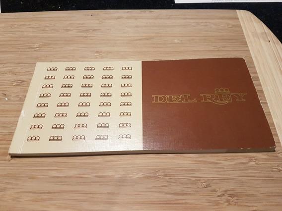 Manual Original Impecável Del Rey Ouro 1982