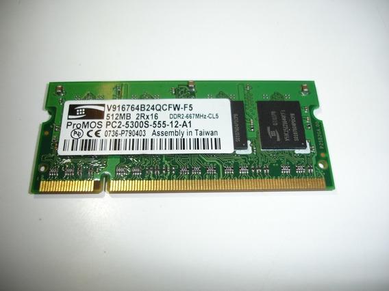 Memoria Promos 512mb Ddr2 667 Pc5300 V916764b24qcfw-f5