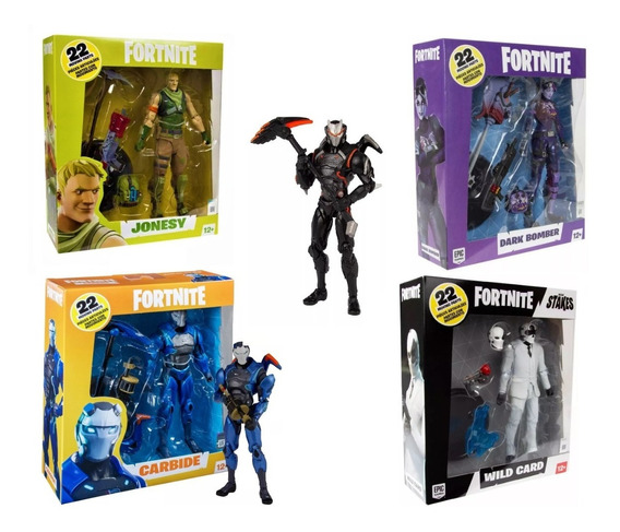 Set De 2 Fornite Figuras Articuladas Originales