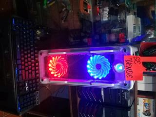 Cpu Gamer Marvo Gaming 4 Ventiladores Led Usb 3.00 Core I3