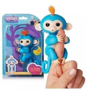Fingerlings Monito. Muñeco Interactivo + De 40 Movimientos.