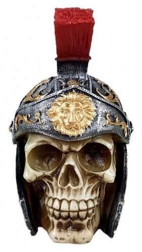 - Crânio Caveira Esqueleto Soldado Romano Promoção