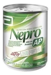 Nutrición Nepro Ap Vainilla Abbott Proteinas Lata 237 Ml X12
