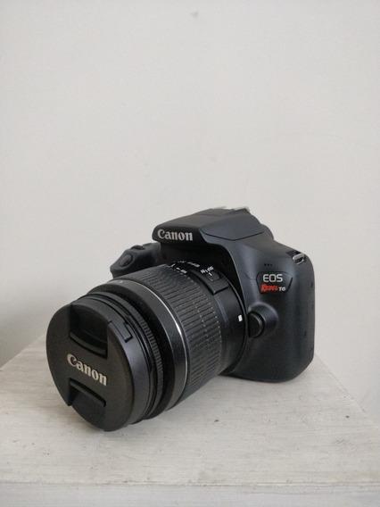 Camera Canon Eos Rebel T6 - 18-55mm - Perfeitas Condições