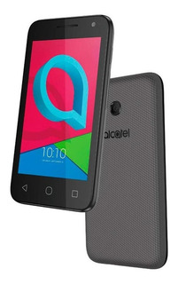 Smartphone Alcatel Pixi4, Preto, 4034e, Tela 4,0 8gb - 8mp