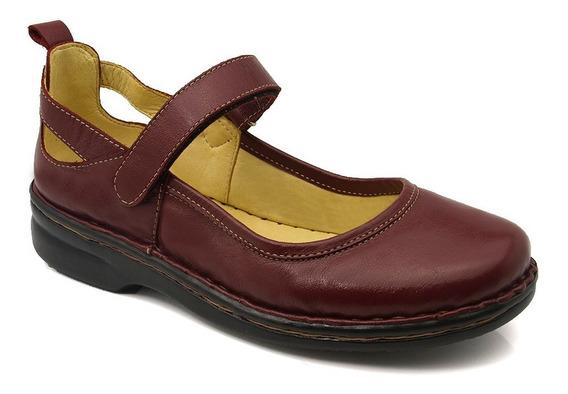 Sapato Feminino 364 Em Couro Amora Doctor Shoes