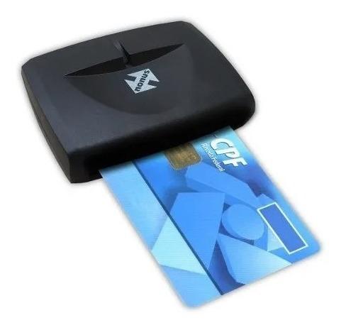 Leitor Certificado Digital Smart Card Nf Original