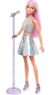 Barbie Quiero Ser Cantante Con Accesorios Mattel Fxn98
