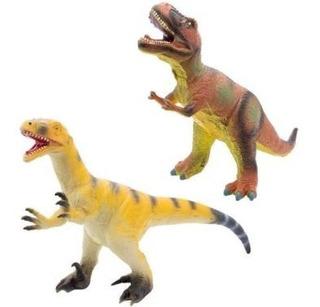 Dinosaurio De Goma Soft Grande 50cm Funny Land Cresko Ft622
