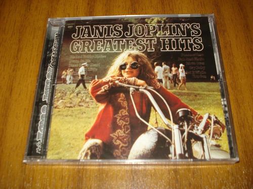 Cd Janis Joplin / Greatest Hits (nuevo Y Sellado)