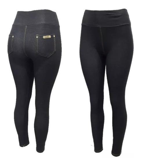 Calça Legging Gestantes Grávidas Confortável Cotton Jeans