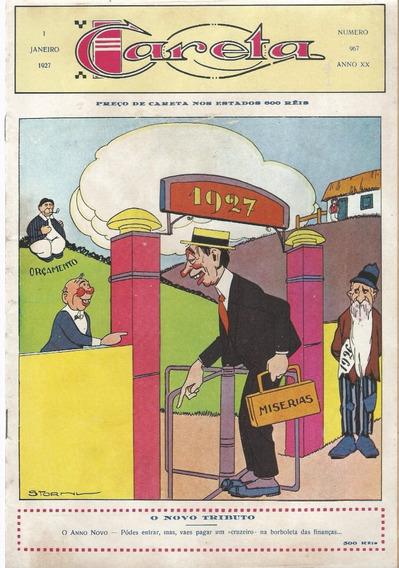 Revista Careta Ano 1927 Nº 967