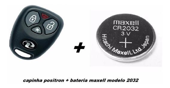 Capa Carcaç Contr Alarm Positron Px32+ Bateria Original Fret