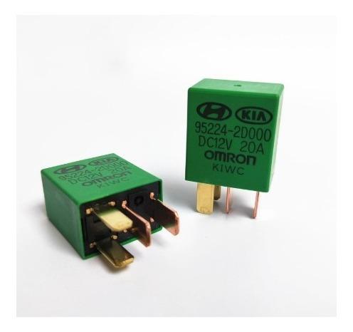 Mini Rele Auxiliar 12 Volts 20 Amperes Kia - Gm - Vw - Ford