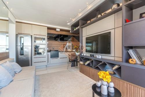 Imagem 1 de 19 de Apartamento Studio No Ipiranga, 1 Dormitório, 1 Vaga, 34m², R$ 499.000,00 Decorado - 1453