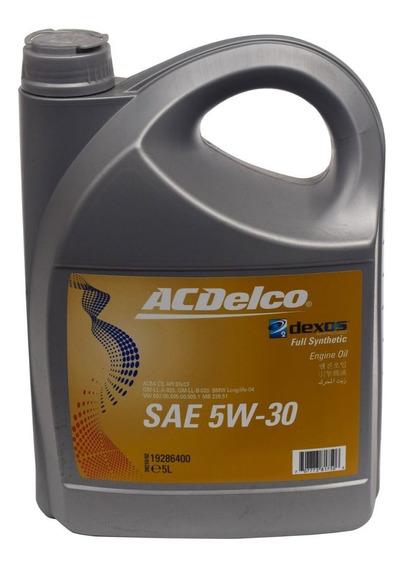 Lubricante Acdelco 5w30 Dexos2 Sintetico Sn/cf 4 Litros