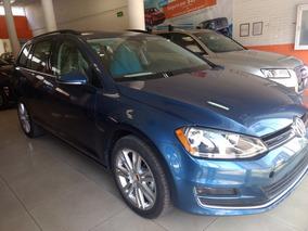 Volkswagen Golf Dsg Tdi Azul Seda 2016