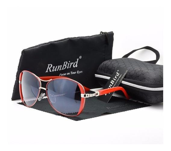Óculos De Sol Feminino Runbird Proteção Uv400 Mod. Borboleta