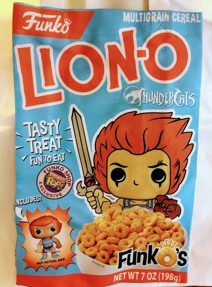 Tote Bag Funko - Liono. Thundercats - Purpura Funnyland