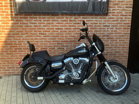 Harley Davidson Dyna Super Glide Custom 2008 Impecavel
