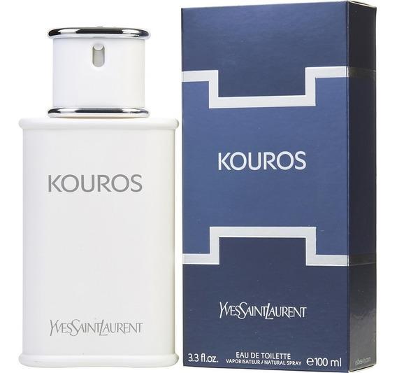 Perfume Yves Saint Laurent Kouros 100ml Edt Original