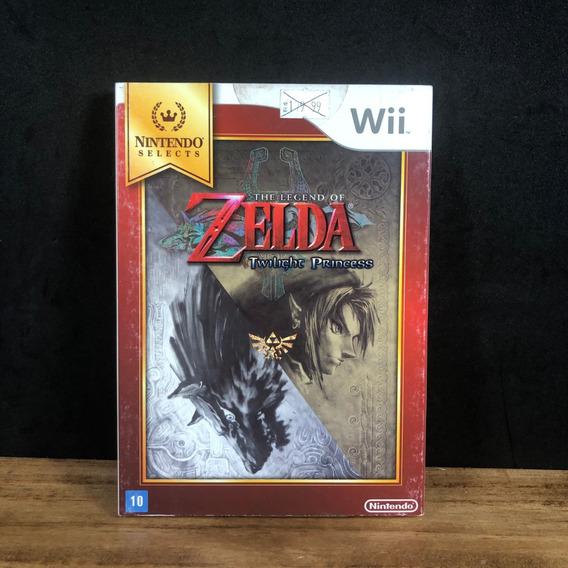 Zelda Twilight Princess Novo Lacrado C/ Luva P/ Nintendo Wii