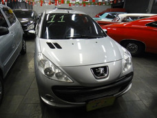 Peugeot 207 Passion 1.4 Xr Flex 5p Completo 2012 Prata